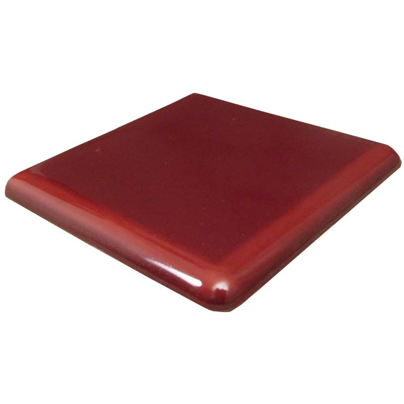 Double rounded edge 4 inch tile (REX)
